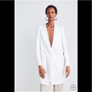 ZARA Coat with front pockets 🆕